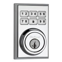 Kwikset Smartcode Deadbolt Polished Chrome 909CNT