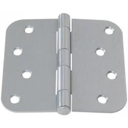Plated Steel Residential Duty Hinge pair