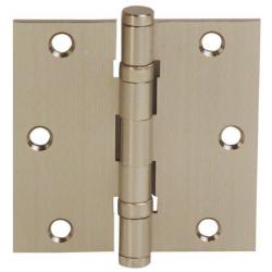 Solid Brass Ball Bearing Hinge pair