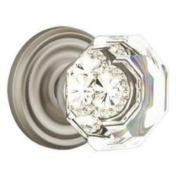 Emtek Crystal Old Town-Clear knobs